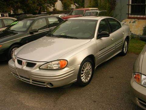 2001 Pontiac Grand Am for sale at Deer Park Auto Sales Corp in Newport News VA