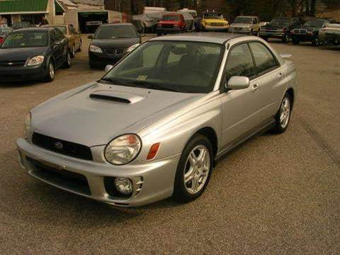 2003 Subaru Impreza for sale at Deer Park Auto Sales Corp in Newport News VA