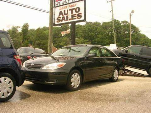 2002 Toyota Camry for sale at Deer Park Auto Sales Corp in Newport News VA