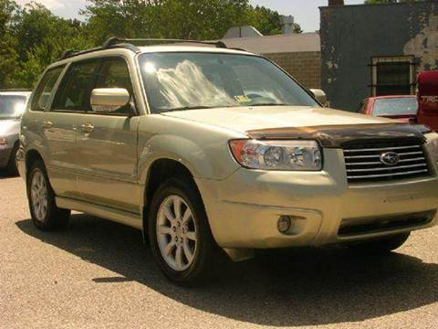 2006 Subaru Forester for sale at Deer Park Auto Sales Corp in Newport News VA