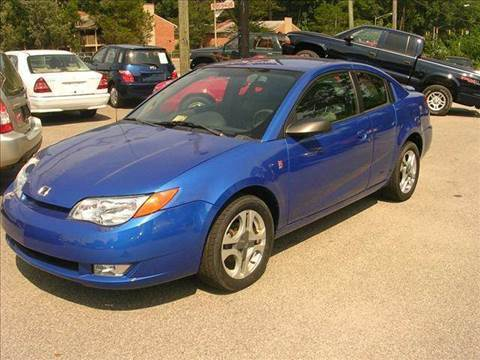 2003 Saturn Ion for sale at Deer Park Auto Sales Corp in Newport News VA
