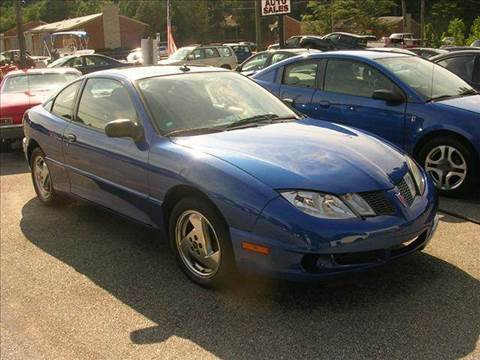 2003 Pontiac Sunfire for sale at Deer Park Auto Sales Corp in Newport News VA