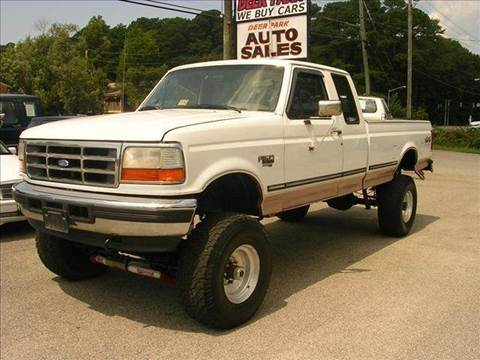 1997 Ford F-250 for sale at Deer Park Auto Sales Corp in Newport News VA