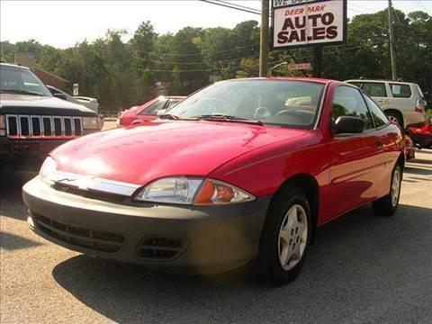 2001 Chevrolet Cavalier for sale at Deer Park Auto Sales Corp in Newport News VA
