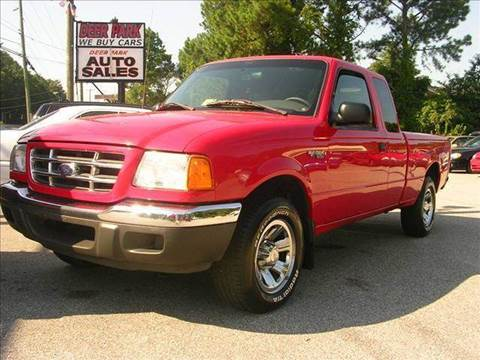 2001 Ford Ranger for sale at Deer Park Auto Sales Corp in Newport News VA