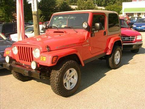 2006 Jeep Wrangler for sale at Deer Park Auto Sales Corp in Newport News VA