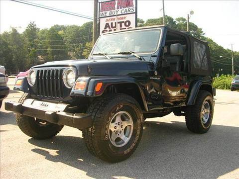 2003 Jeep Wrangler for sale at Deer Park Auto Sales Corp in Newport News VA
