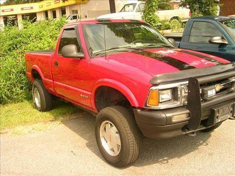 1995 Chevrolet S-10 for sale at Deer Park Auto Sales Corp in Newport News VA