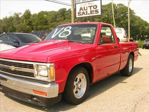 1984 Chevrolet S-10 for sale at Deer Park Auto Sales Corp in Newport News VA