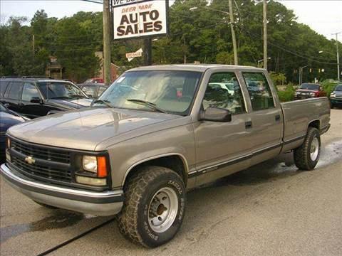 1999 Chevrolet C/K 3500 Series for sale at Deer Park Auto Sales Corp in Newport News VA