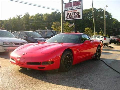2000 Chevrolet Corvette for sale at Deer Park Auto Sales Corp in Newport News VA