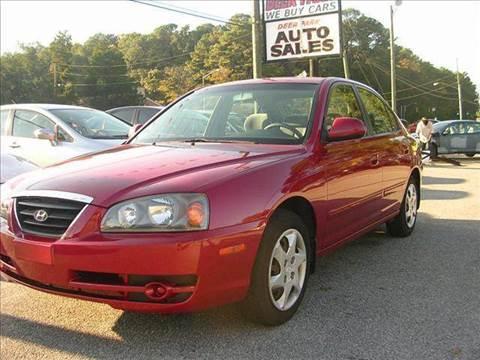 2005 Hyundai Elantra for sale at Deer Park Auto Sales Corp in Newport News VA