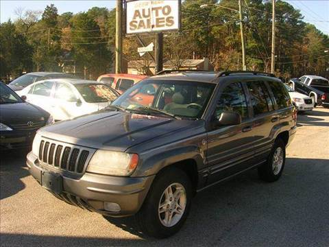 2002 Jeep Grand Cherokee for sale at Deer Park Auto Sales Corp in Newport News VA