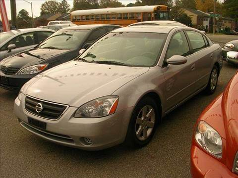 2002 Nissan Altima for sale at Deer Park Auto Sales Corp in Newport News VA