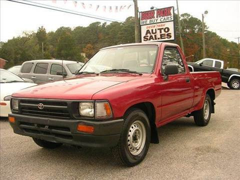 1993 Toyota Pickup for sale at Deer Park Auto Sales Corp in Newport News VA