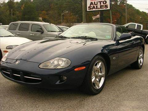 1999 Jaguar XK-Series for sale at Deer Park Auto Sales Corp in Newport News VA
