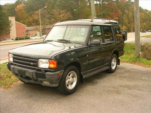 1998 Land Rover Discovery for sale at Deer Park Auto Sales Corp in Newport News VA