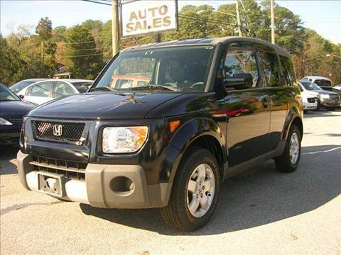 2003 Honda Element for sale at Deer Park Auto Sales Corp in Newport News VA