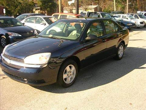 2005 Chevrolet Malibu for sale at Deer Park Auto Sales Corp in Newport News VA