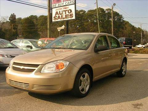 2006 Chevrolet Cobalt for sale at Deer Park Auto Sales Corp in Newport News VA