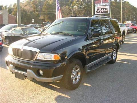 2000 Lincoln Navigator for sale at Deer Park Auto Sales Corp in Newport News VA