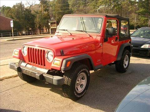 2005 Jeep Wrangler for sale at Deer Park Auto Sales Corp in Newport News VA