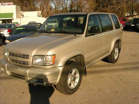 2002 Isuzu Trooper for sale at Deer Park Auto Sales Corp in Newport News VA