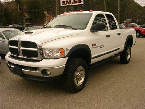 2005 Dodge Ram Pickup 2500 for sale at Deer Park Auto Sales Corp in Newport News VA
