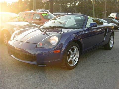 2001 Toyota MR2 Spyder for sale at Deer Park Auto Sales Corp in Newport News VA