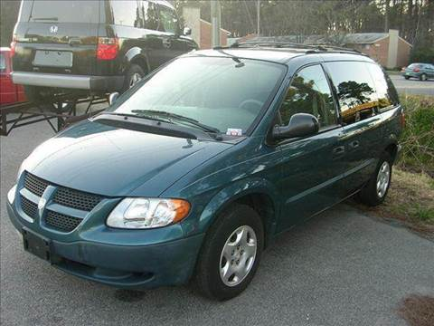 2002 Dodge Caravan for sale at Deer Park Auto Sales Corp in Newport News VA