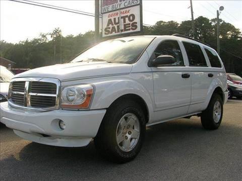 2005 Dodge Durango for sale at Deer Park Auto Sales Corp in Newport News VA