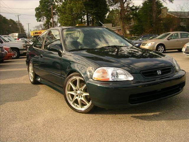 1998 Honda Civic EX 2dr Coupe   Newport News VA