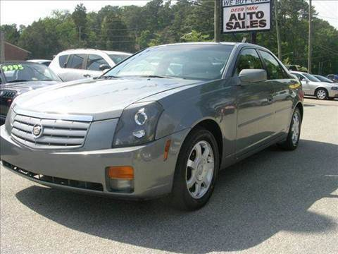 2004 Cadillac CTS for sale at Deer Park Auto Sales Corp in Newport News VA