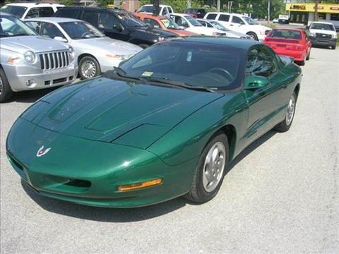 1995 Pontiac Firebird for sale at Deer Park Auto Sales Corp in Newport News VA