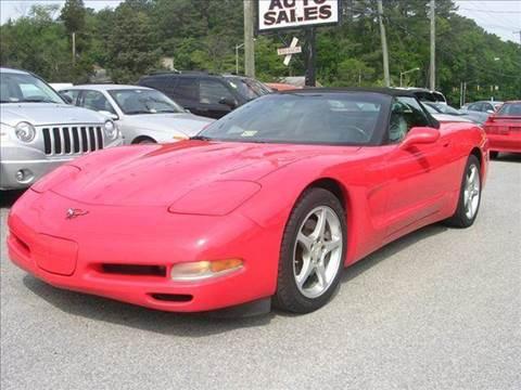 1998 Chevrolet Corvette for sale at Deer Park Auto Sales Corp in Newport News VA