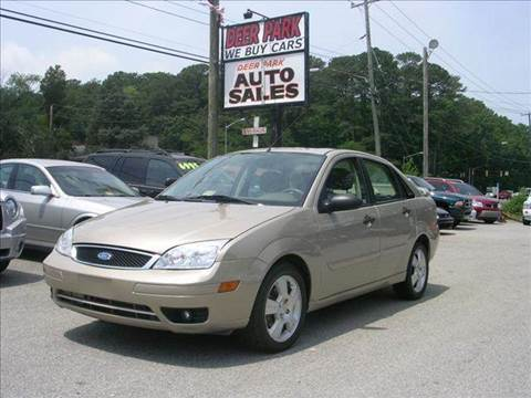 2006 Ford Focus for sale at Deer Park Auto Sales Corp in Newport News VA
