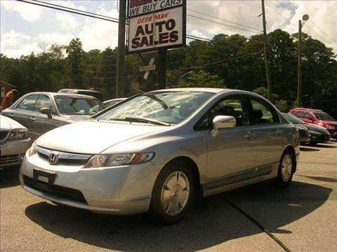 2006 Honda Civic for sale at Deer Park Auto Sales Corp in Newport News VA