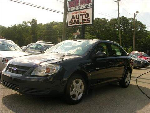 2008 Chevrolet Cobalt for sale at Deer Park Auto Sales Corp in Newport News VA