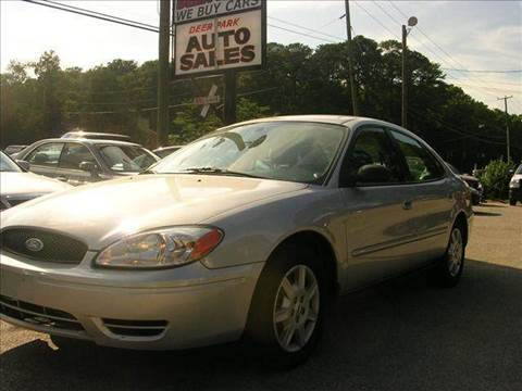 2005 Ford Taurus for sale at Deer Park Auto Sales Corp in Newport News VA
