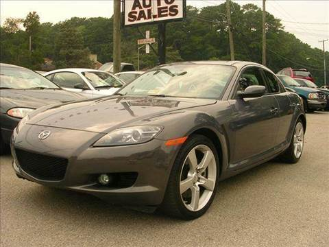 2007 Mazda RX-8 for sale at Deer Park Auto Sales Corp in Newport News VA