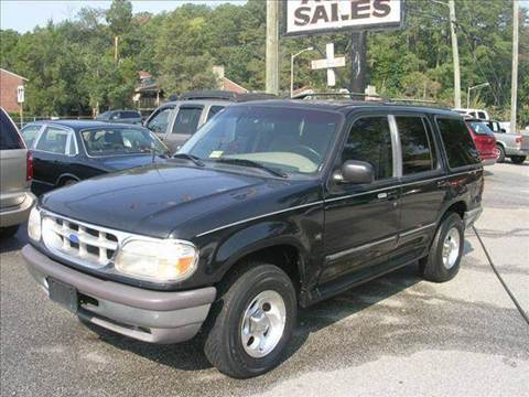1997 Ford Explorer for sale at Deer Park Auto Sales Corp in Newport News VA