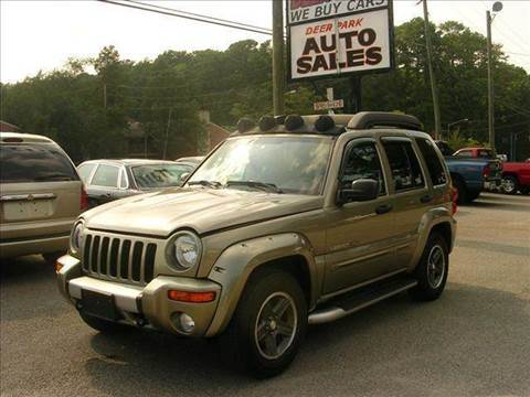 2003 Jeep Liberty for sale at Deer Park Auto Sales Corp in Newport News VA