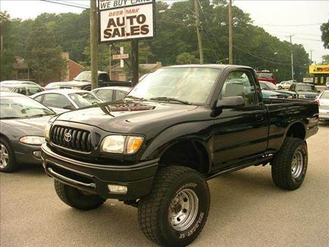 2001 Toyota Tacoma for sale at Deer Park Auto Sales Corp in Newport News VA