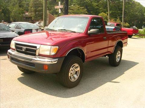 2000 Toyota Tacoma for sale at Deer Park Auto Sales Corp in Newport News VA