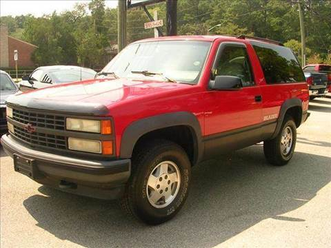 1993 Chevrolet Blazer for sale at Deer Park Auto Sales Corp in Newport News VA