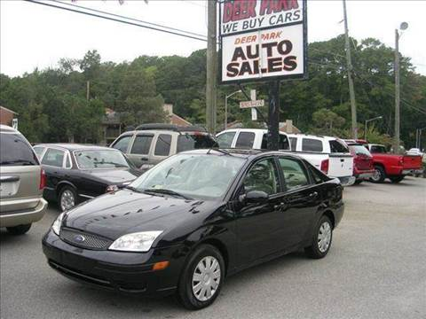 2001 Ford Focus for sale at Deer Park Auto Sales Corp in Newport News VA