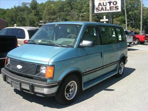 1994 Chevrolet Astro for sale at Deer Park Auto Sales Corp in Newport News VA