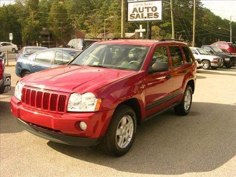 2005 Jeep Grand Cherokee for sale at Deer Park Auto Sales Corp in Newport News VA