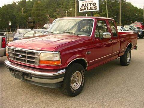 1995 Ford F-150 for sale at Deer Park Auto Sales Corp in Newport News VA