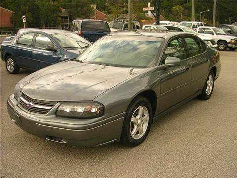 2005 Chevrolet Impala for sale at Deer Park Auto Sales Corp in Newport News VA
